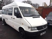 Mercedes-Benz Sprinter 2.9 TD + 410 D 17 SEATER MINIBUS + LWB + TWIN WHEELS