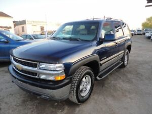 2002 CHEVROLET TAHOE 4DR 4X4 LEATHER