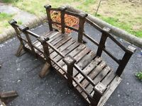 Beautiful wooden bridges x2 available £55 each