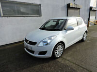 60 Suzuki Swift 1.2 SZ3 Damaged Salvage Repairable Cat D 1 Owner!!