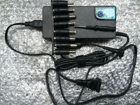 AC Adapter 120W for Laptops Dell, HP, Samsung.