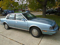 1986 Oldsmobile Cutlass Sedan