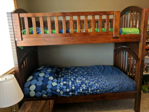 Solid Wood Bunkbeds GREAT CONDITION
