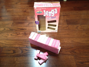 Family Board Games Nowhere To Go, Jenga Girl Talk