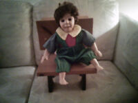 DOLL WITH DESK