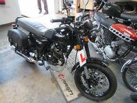 Bullit Motorcycles Hunt S. 125cc motorcycle