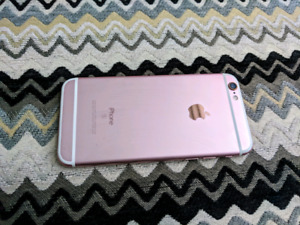 Iphone 6s rose gold 32gb $380 OBO