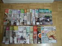 24 magazines for only $10 = 40 cents each