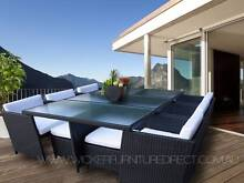 NEW 12 Seater Wicker Outdoor Dining Furniture - Wollongong Areas Wollongong Wollongong Area Preview
