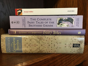 Lot 5 Fairy Tales and other books