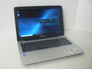 "ASUS 15.6"" Core i5 7th 2.70 ghz 8gb Ram 256 SSD Windows 10 64bit"