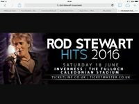 Rod Stewart Ticket - Inverness Sat 18 June