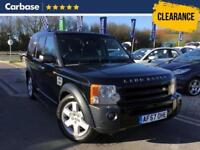 2007 LAND ROVER DISCOVERY 2.7 Td V6 HSE 5dr Auto SUV 5 Seats