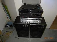 cassette NAD table TEAC et ampli SANYO speaker KENCRAFTS