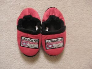 Montreal Canadiens Toronto Maple Leafs NHL Child Slippers Excell