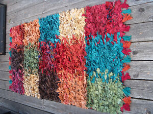 Rag Rug - 90% cotton / 10% jute - Made in India
