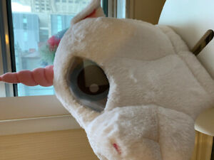 Selling Unicorn Head Costume - PERFECTLY GOOD CONDITION