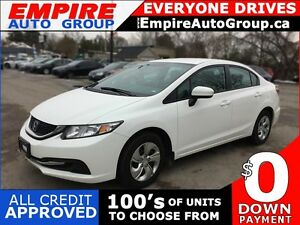2014 HONDA CIVIC LX * POWER GROUP * LOW KM * LIKE NEW