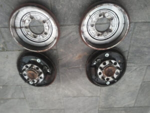 2008, 2009, 2010 Jeep Patriot SUV Rear Brakes & Drums