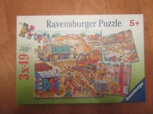 Ravensburger Childrens  Puzzle-Buiding a House