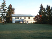 Home on acreage close to Vanderhoof for sale