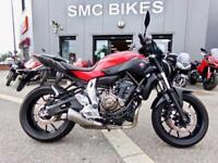 2014 Yamaha MT-07 - NATIONWIDE DELIVERY AVAILABLE