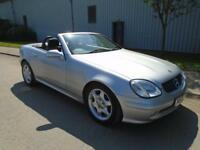 MERCEDES-BENZ SLK320 KOMPRESSOR 2.3 AUTOMATIC LEATHER AIR CON CRUISE CONTROL