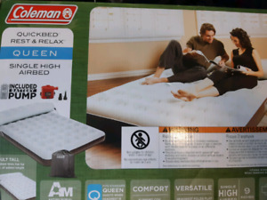 Coleman Queen air mattress