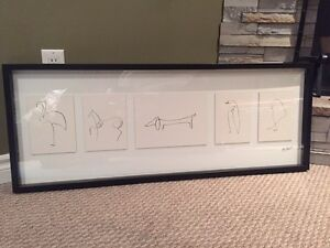 Ikea Picasso pictures in frame  Kitchener / Waterloo Kitchener Area image 6