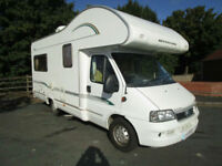 Bessacarr E425 4 Berth Motorhome For Sale