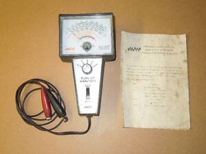 Tune-Up Analyzer for 8 cylinder and 6 cylinder engines