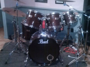 Pearl Professional DLX Drums (Shell Kit)