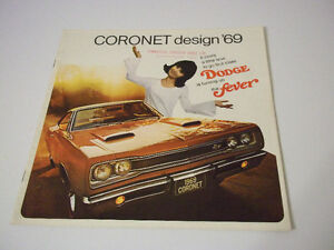1969 DODGE CORONET CANADIAN DEALER BROCHURE