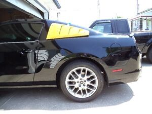 mustang side louver
