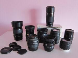 Sony Minolta A Mount AF Lenses