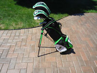 Jr. boys La Jolla golf clubs with stand bag