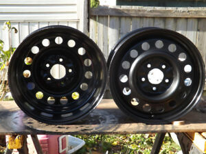"Rims-  2 - 16"" Multi Fit Rims $ 60.00 bolt pat5x114.3 (5x41/2 )"