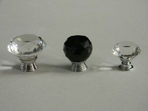 NEW 10 Pumpkin Shape Glass Knobs for Drawer,Dresser(with screws London Ontario image 4