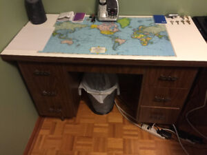Various Hand Crafted Wood Desks for Sale!