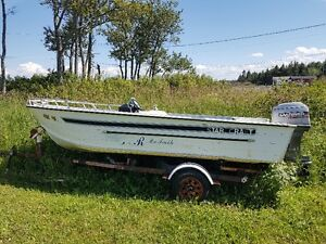 Star Craft 17' fishing boat