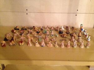Vintage Wade England Mini Figurines