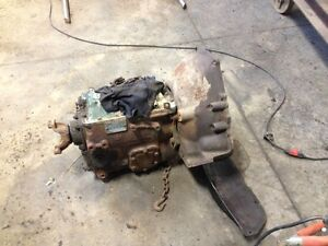 Clark Transmission and clutch from Ford F800 truck