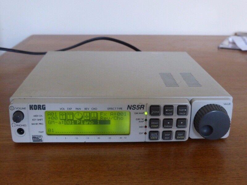 Synth module - Korg NS5R