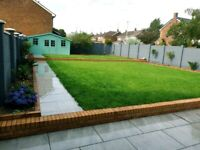 Landscaping, paving, Fencing, decking, artificial grass