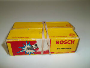 2 Vintage Bosch Spark Plugs For Audi Fox/Jetta.