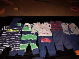 Carter newborn boy outfit lot 22 outfits worn once