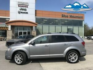2017 Dodge Journey GT  ACCIDENT FREE, LEATHER HEATED, BLUETOOTH!