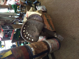 Antique tractor seats for sale.