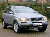 2008 08 Volvo XC90 2.4 D5 SE Geartronic AWD 5dr WITH FSH+LEATHER+7 SEATS