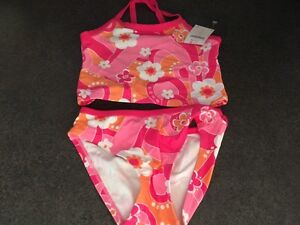 New w/Tags-Gymboree Size 7 Bikini Bathing Suit